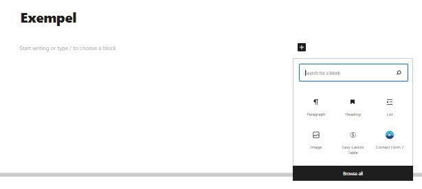 add plugin to page